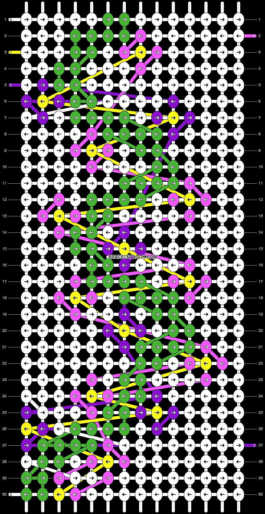 Alpha pattern #58168 pattern