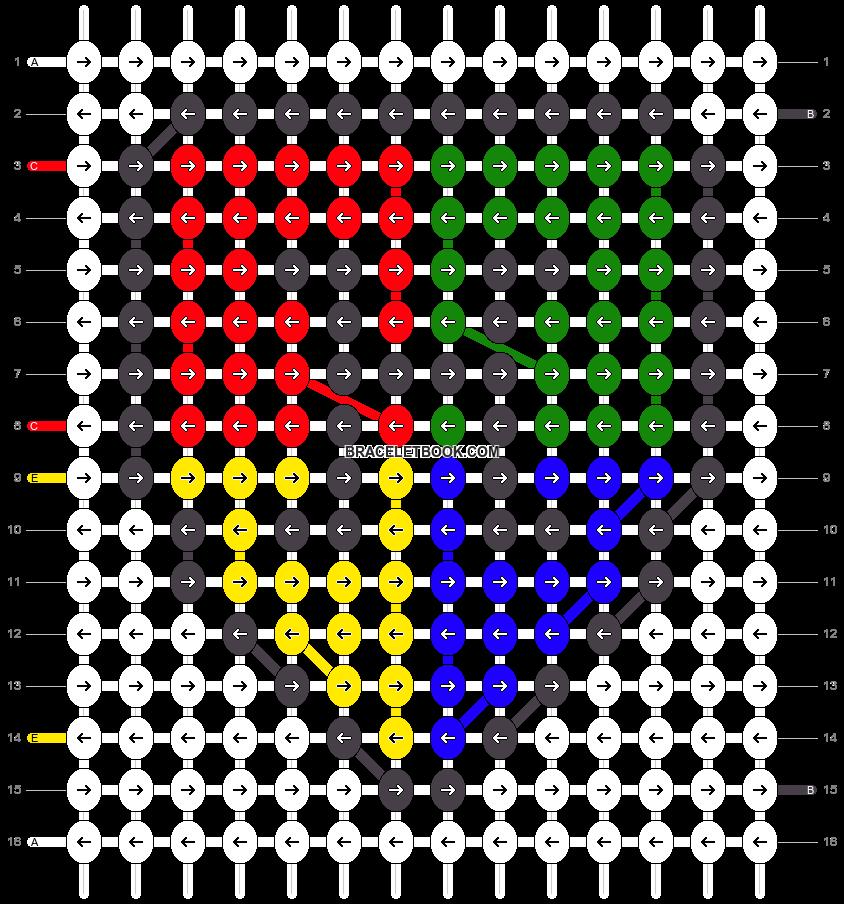 Alpha pattern #58169 pattern