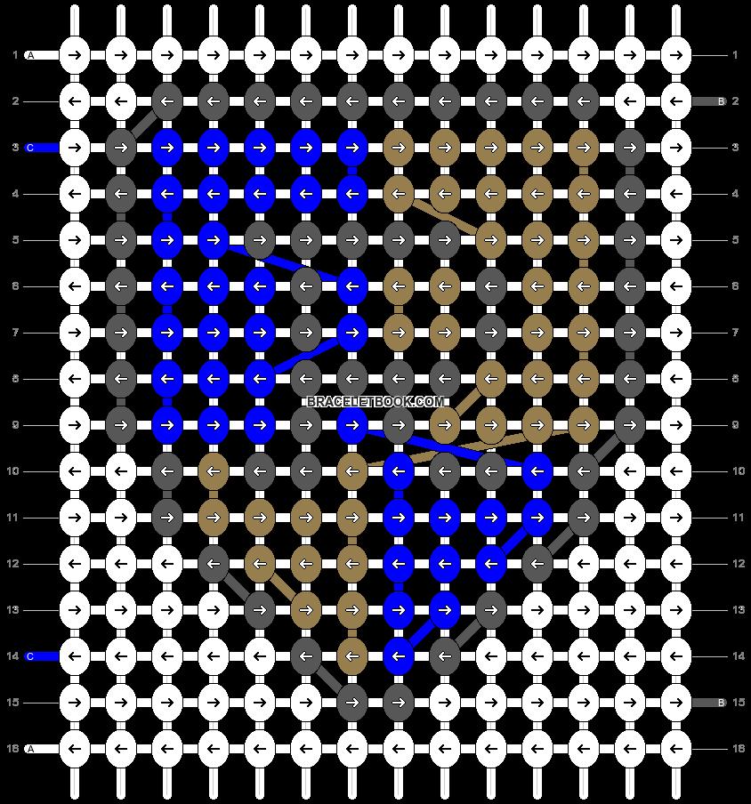 Alpha pattern #58172 pattern