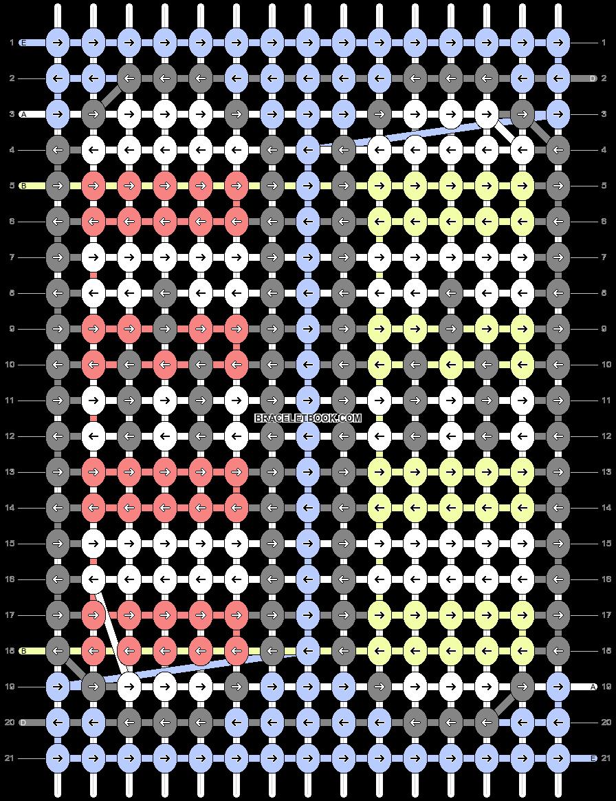 Alpha pattern #58176 pattern