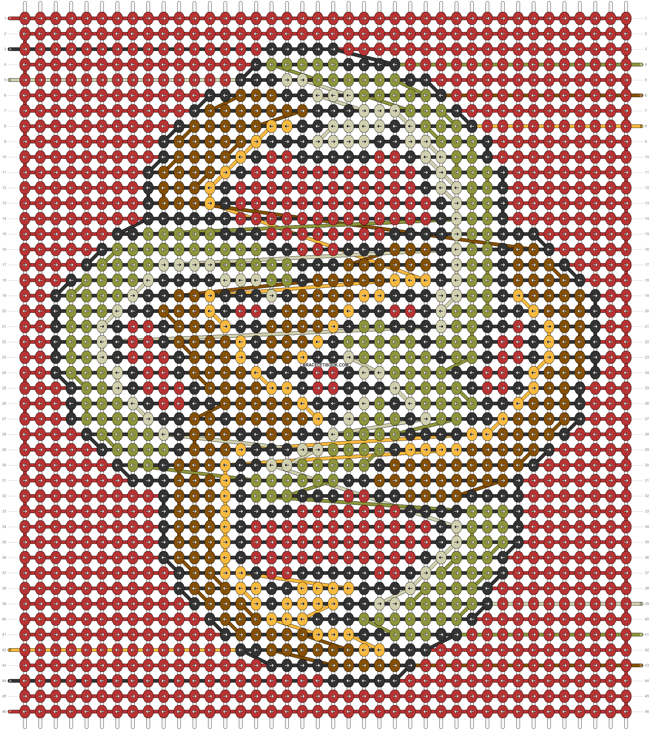Alpha pattern #58184 pattern