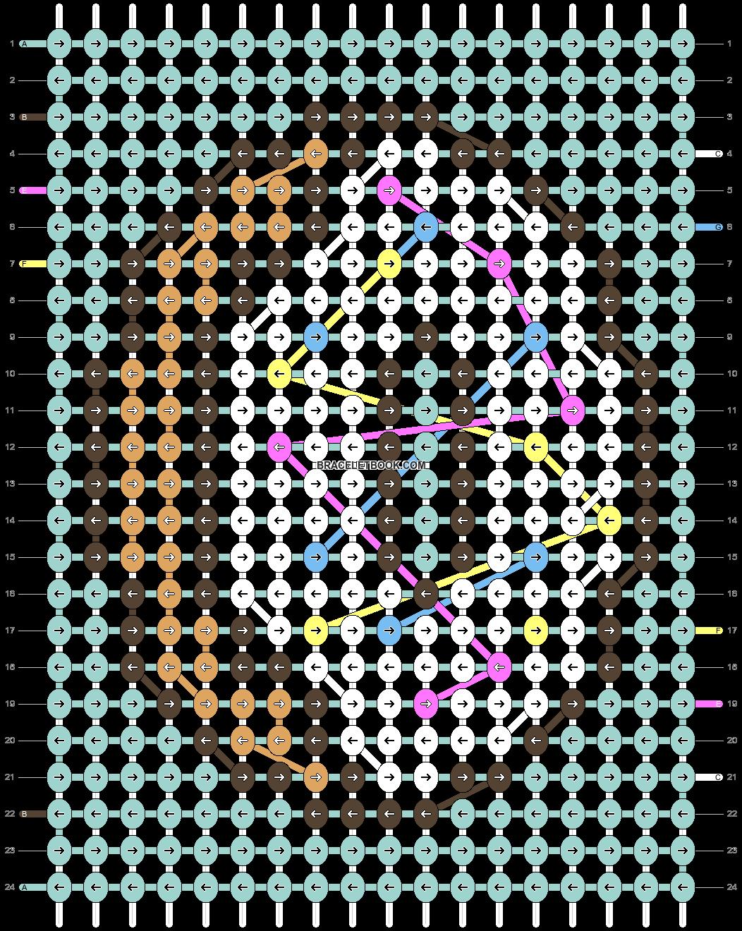Alpha pattern #58202 pattern