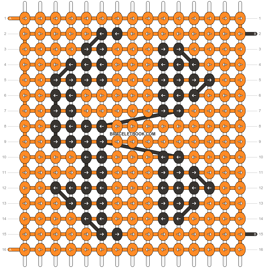 Alpha pattern #58232 pattern