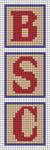 Alpha pattern #58255