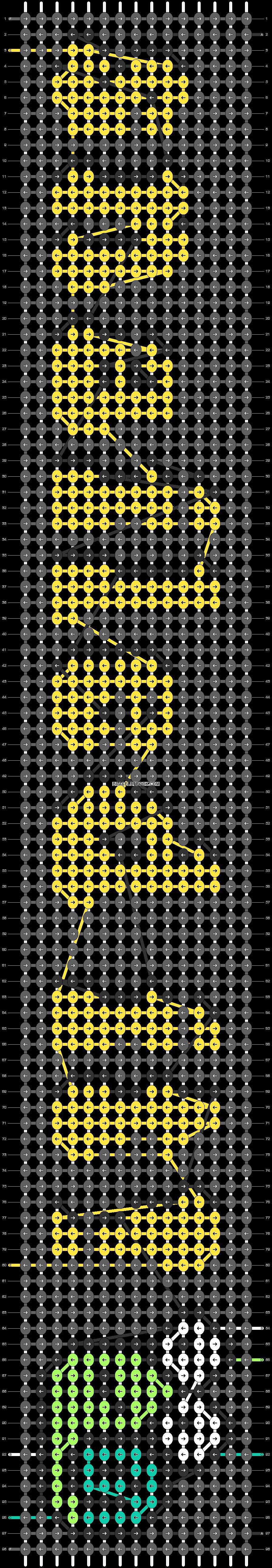 Alpha pattern #58260 pattern