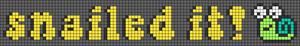 Alpha pattern #58260