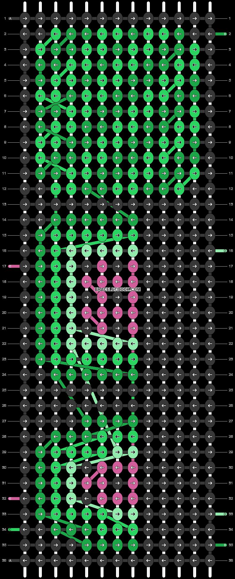 Alpha pattern #58280 pattern