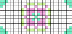 Alpha pattern #58281