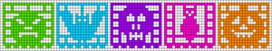 Alpha pattern #58283