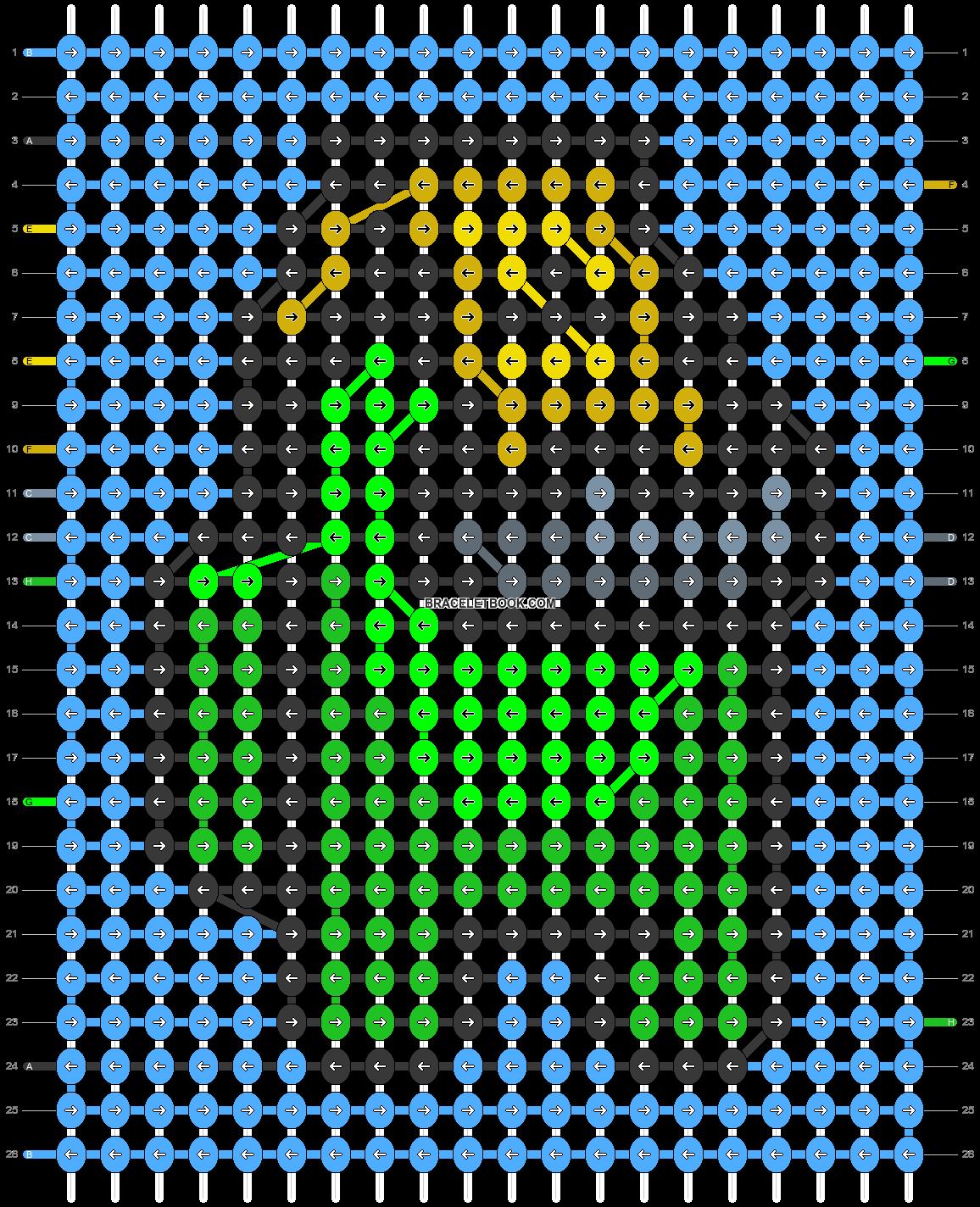 Alpha pattern #58287 pattern
