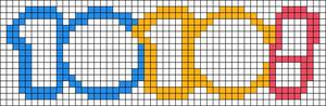Alpha pattern #58303