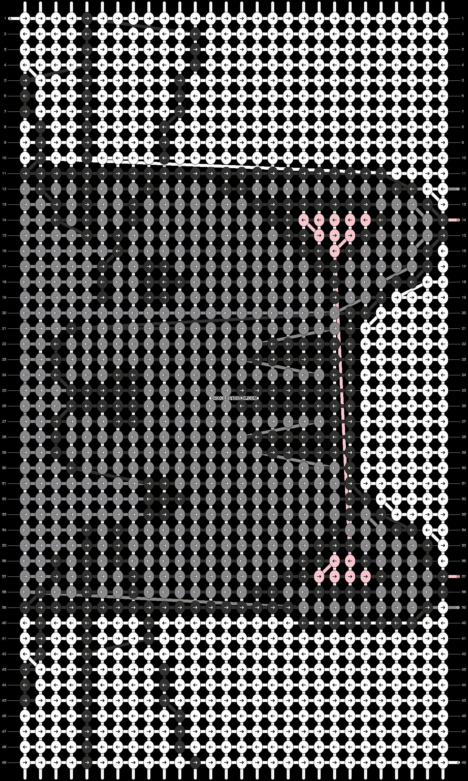 Alpha pattern #58312 pattern