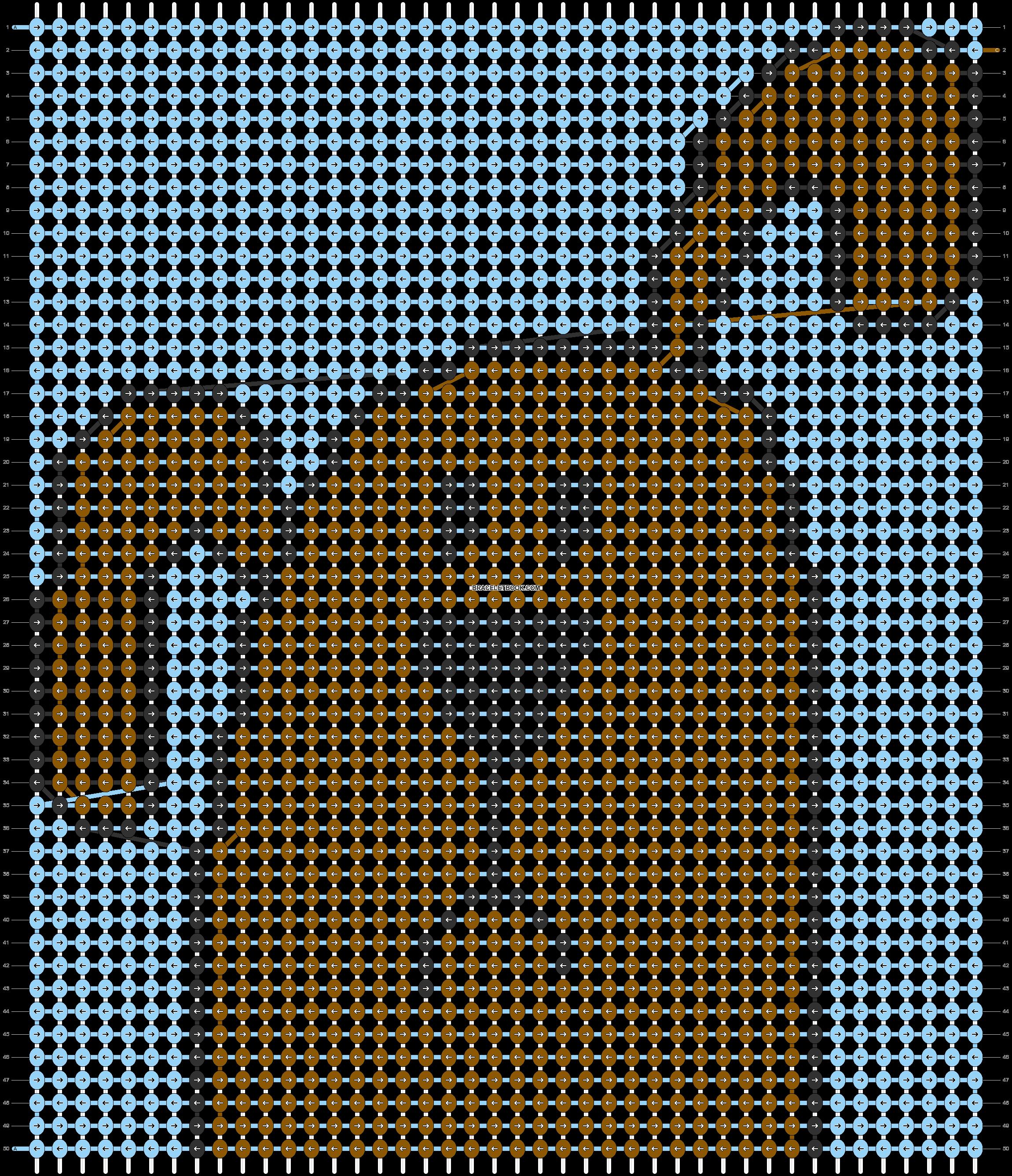 Alpha pattern #58313 pattern