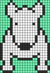 Alpha pattern #58314