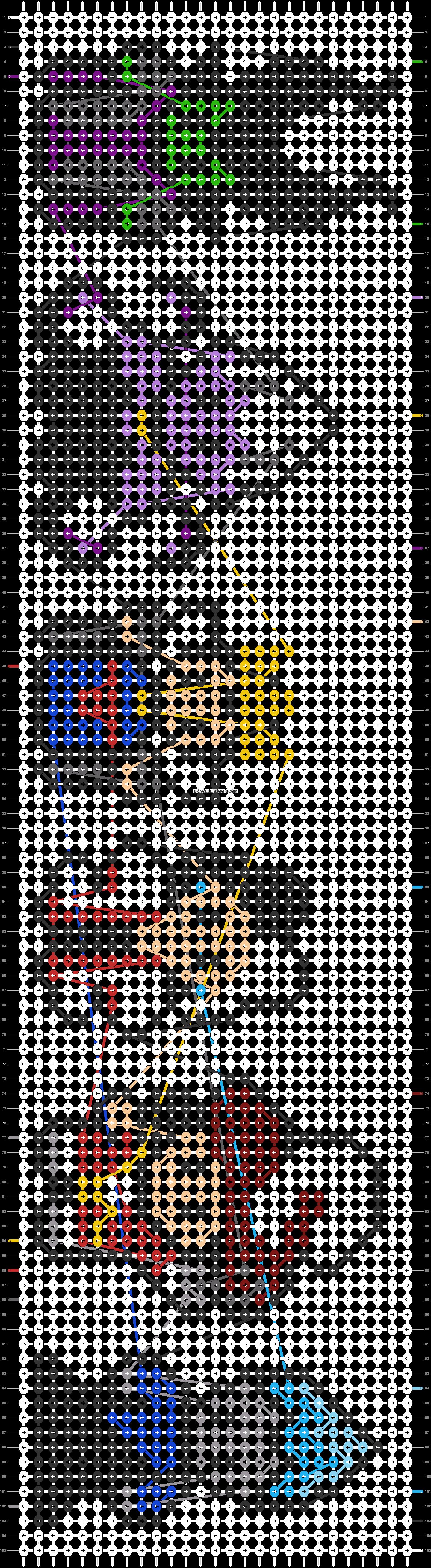 Alpha pattern #58327 pattern