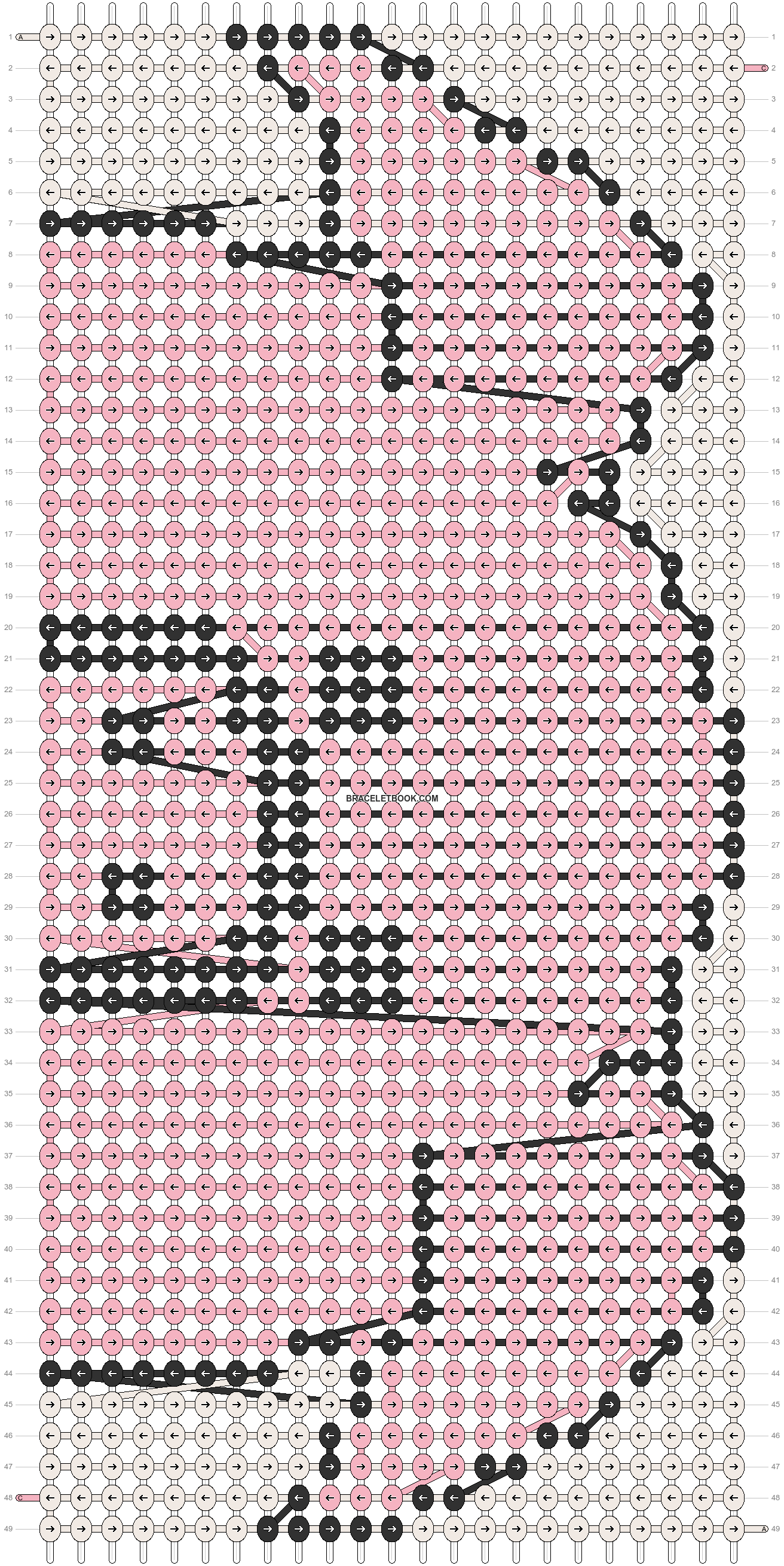 Alpha pattern #58336 pattern