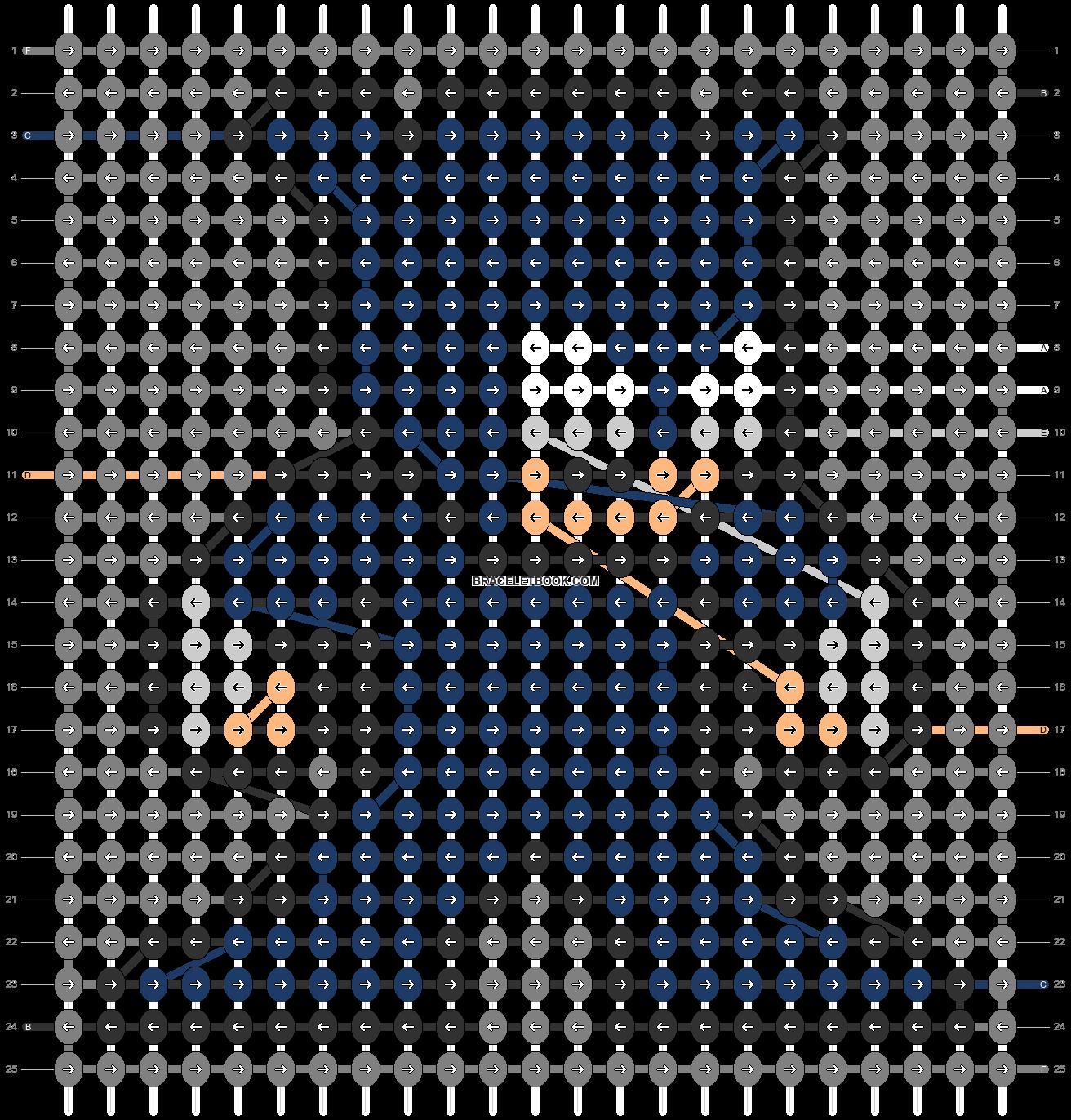 Alpha pattern #58340 pattern
