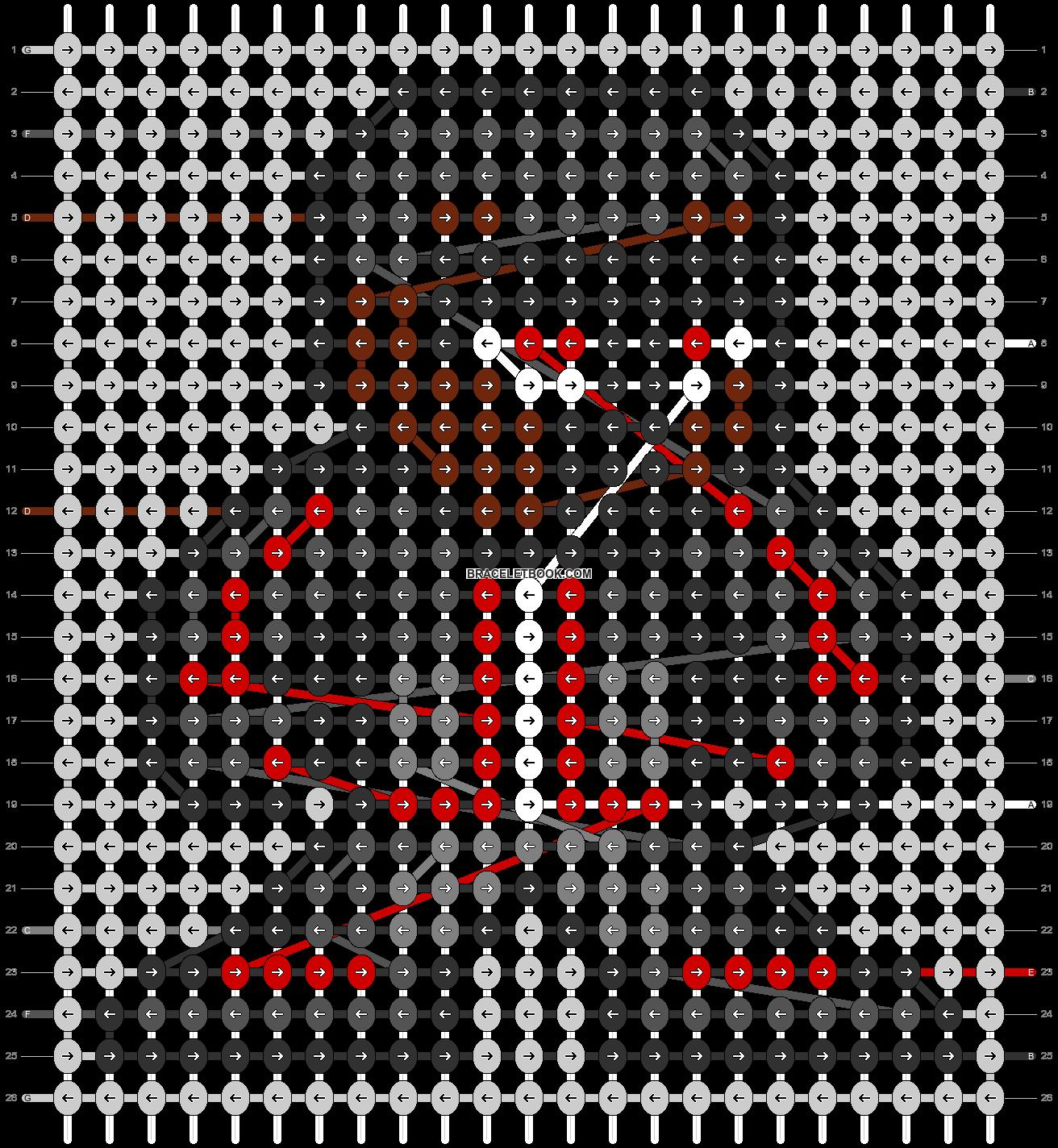 Alpha pattern #58341 pattern
