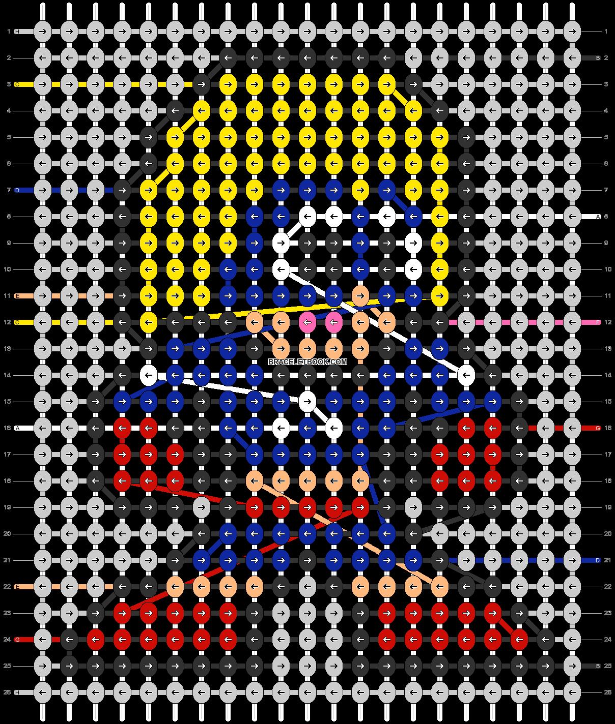 Alpha pattern #58342 pattern