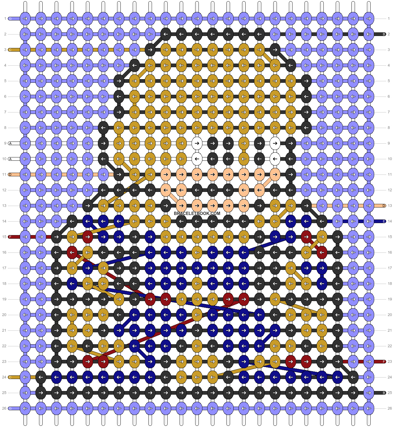 Alpha pattern #58343 pattern