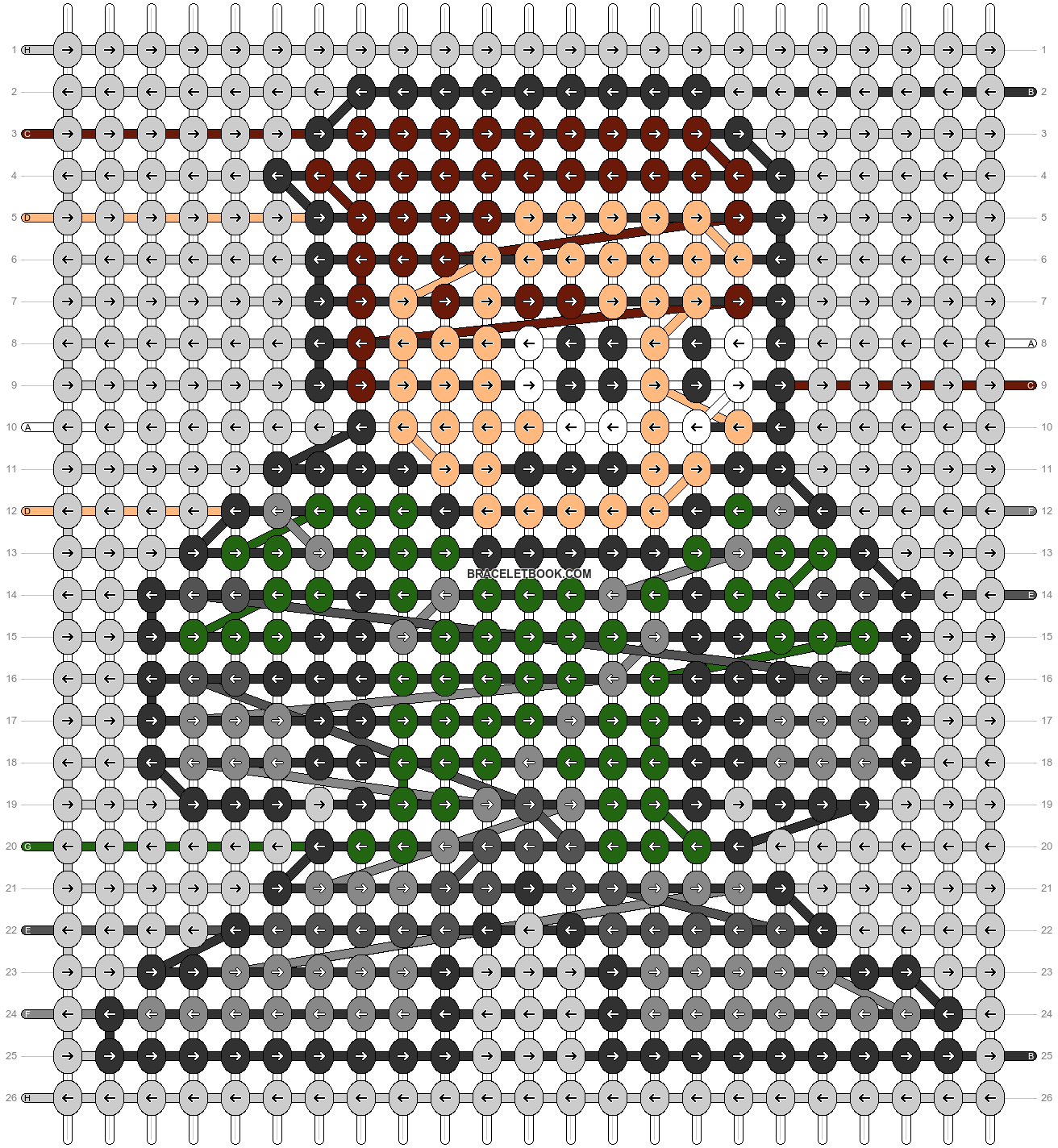 Alpha pattern #58345 pattern