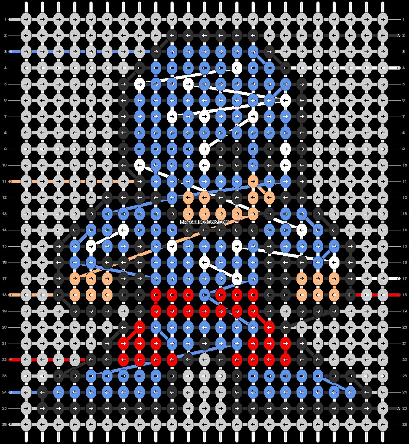 Alpha pattern #58354 pattern