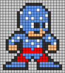 Alpha pattern #58354
