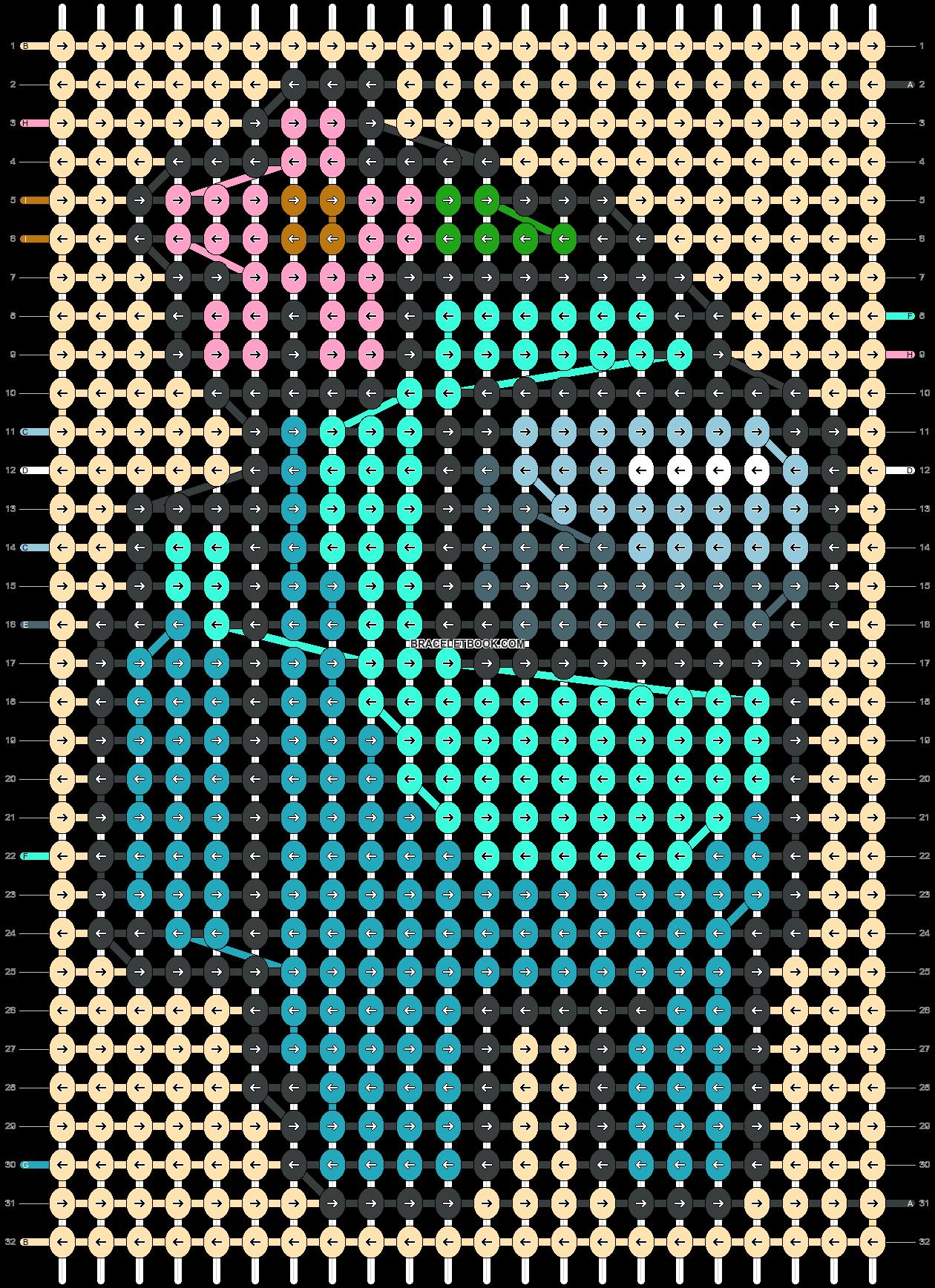 Alpha pattern #58355 pattern