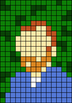 Alpha pattern #58363