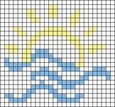 Alpha pattern #58376