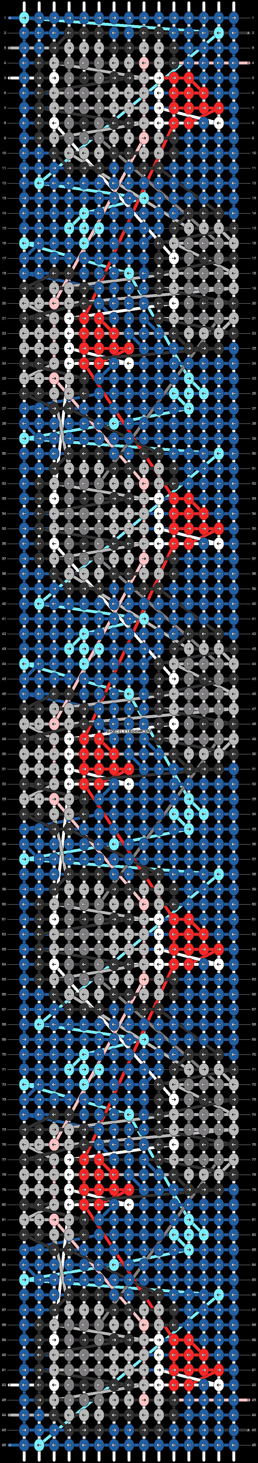 Alpha pattern #58393 pattern