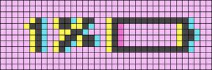 Alpha pattern #58461