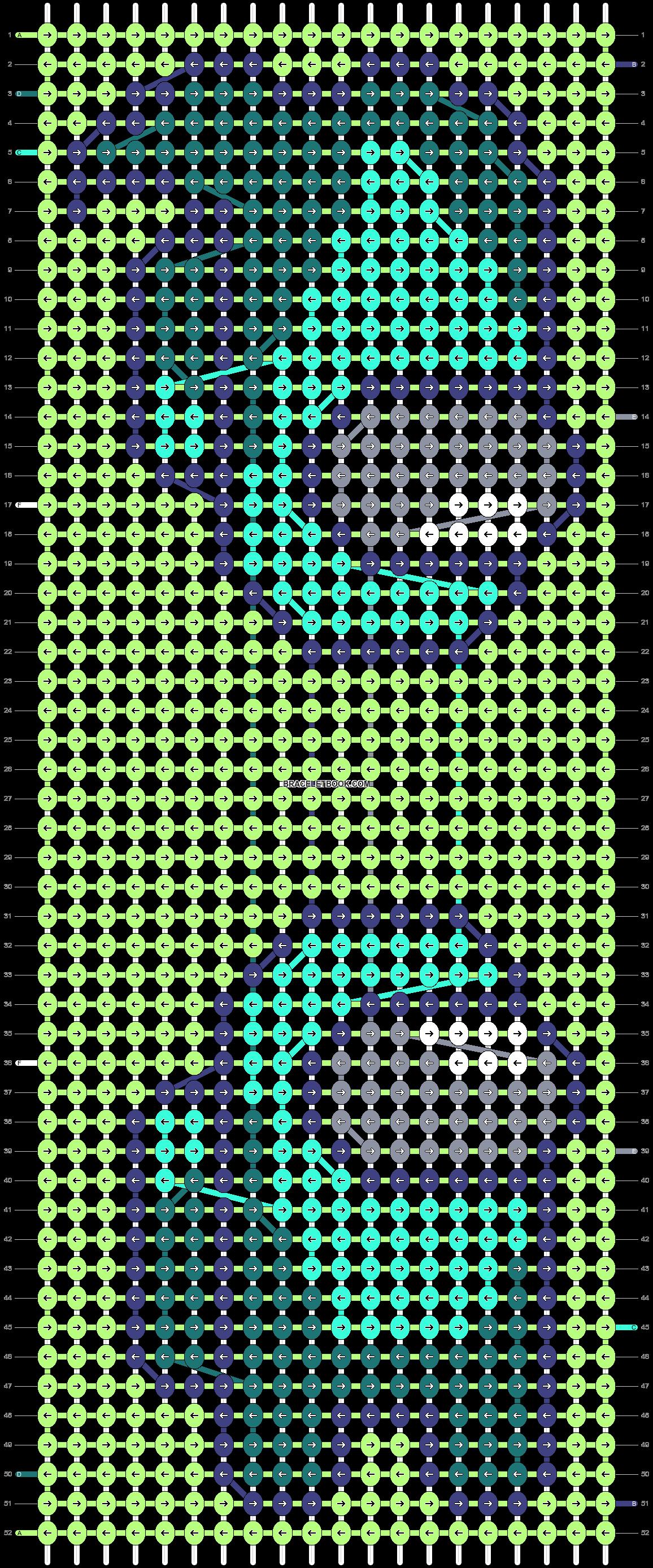 Alpha pattern #58462 pattern