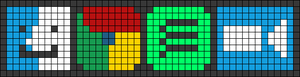 Alpha pattern #58466
