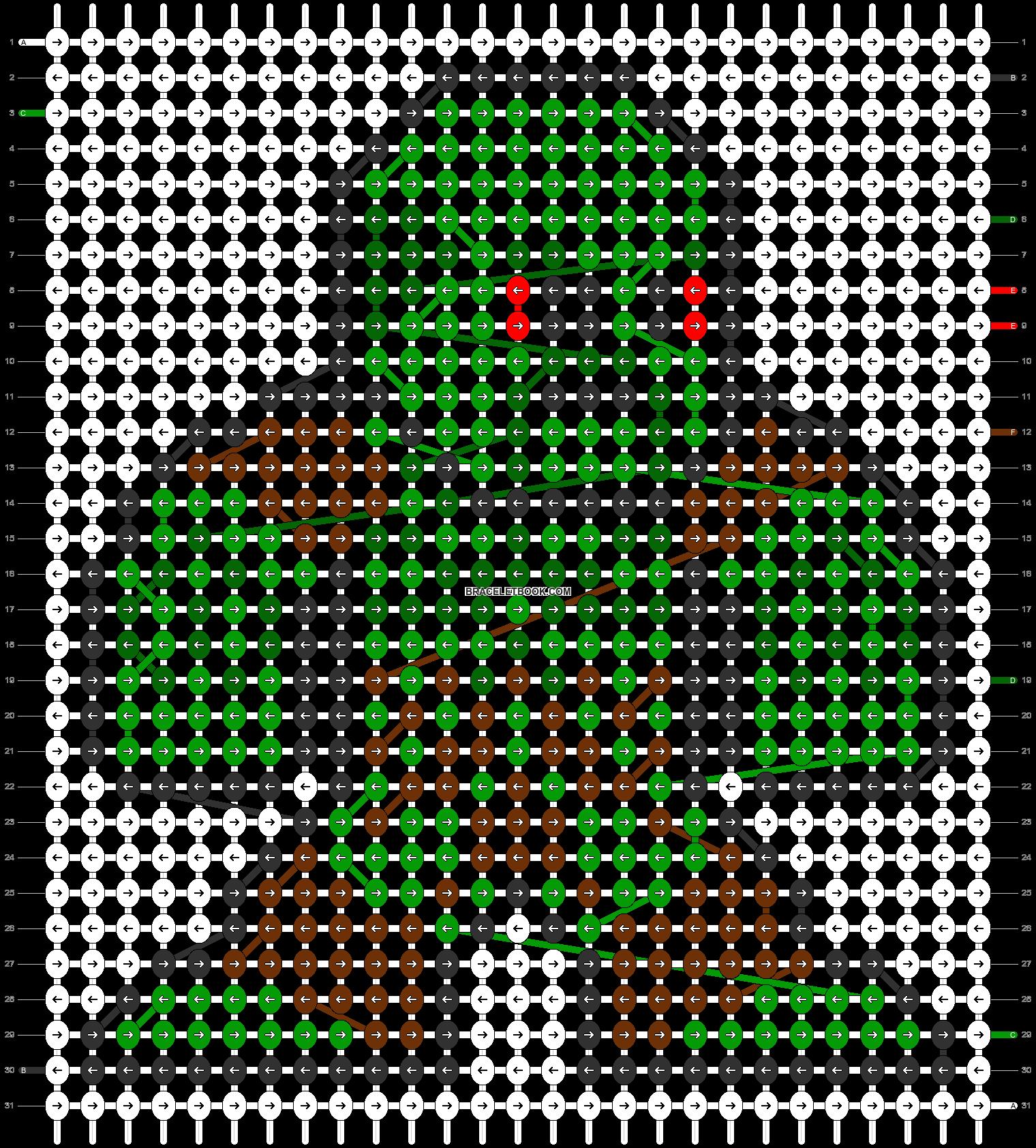 Alpha pattern #58486 pattern