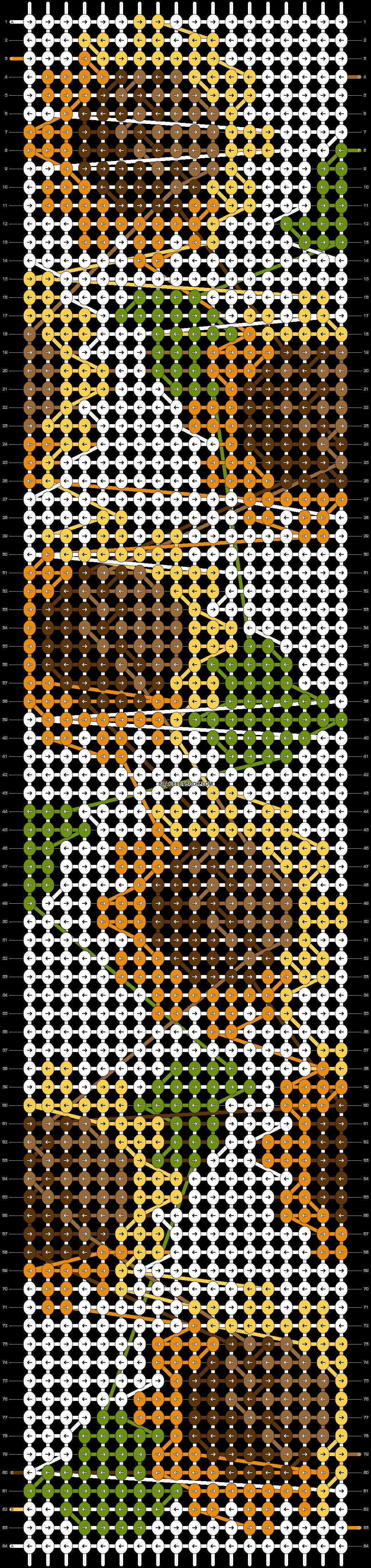 Alpha pattern #58520 pattern