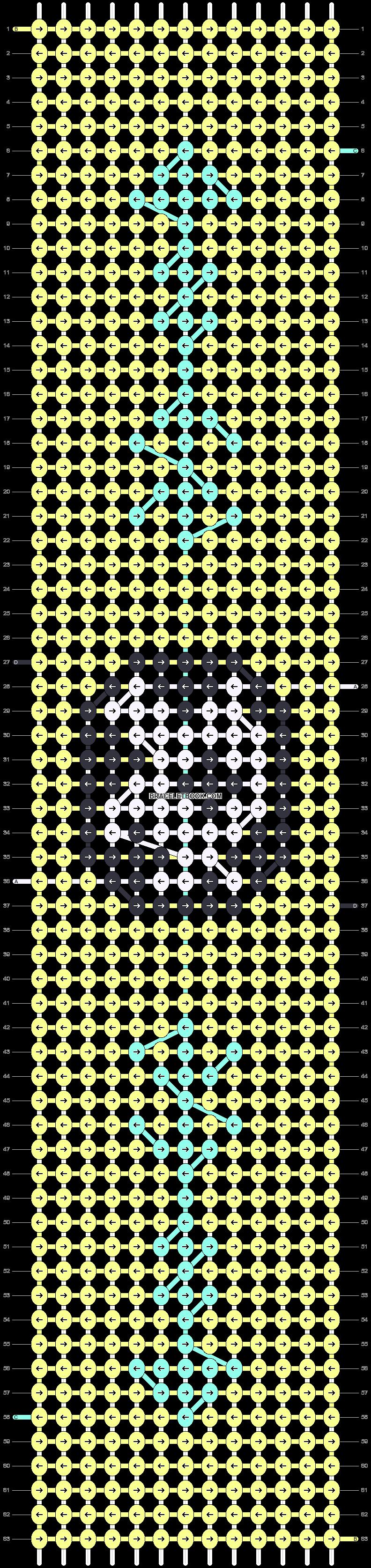 Alpha pattern #58532 pattern