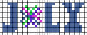 Alpha pattern #58533