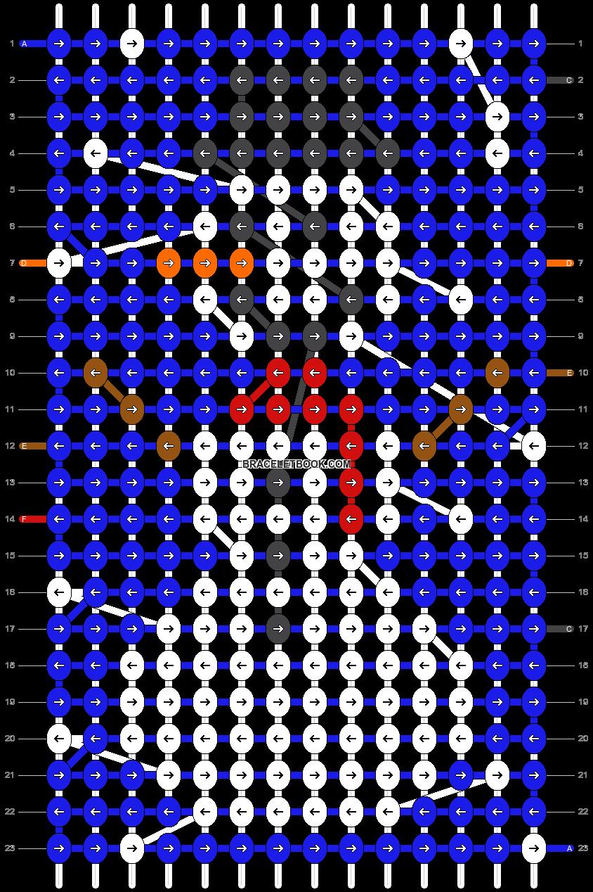 Alpha pattern #58545 pattern