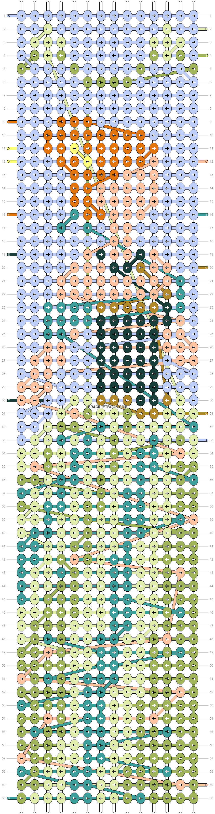 Alpha pattern #58564 pattern