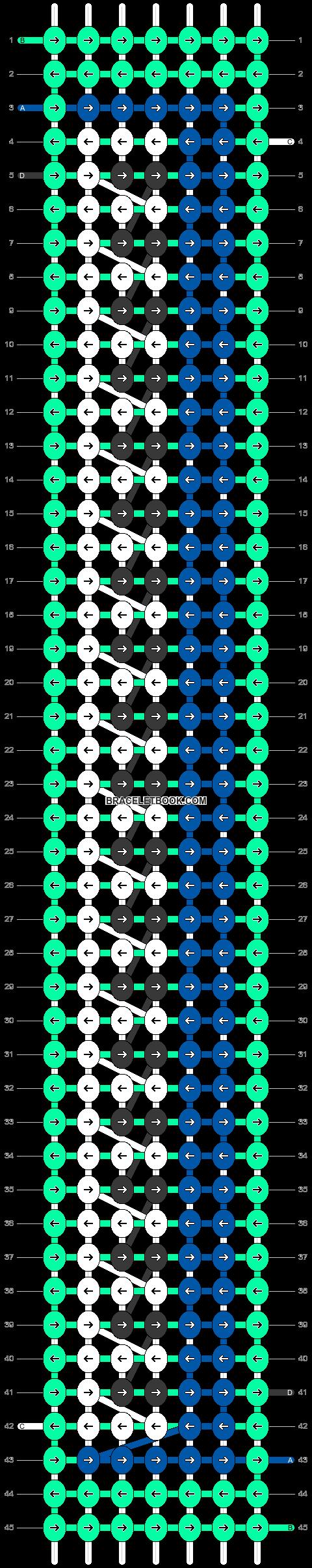 Alpha pattern #58581 pattern