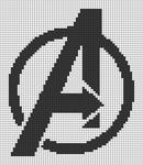 Alpha pattern #58582