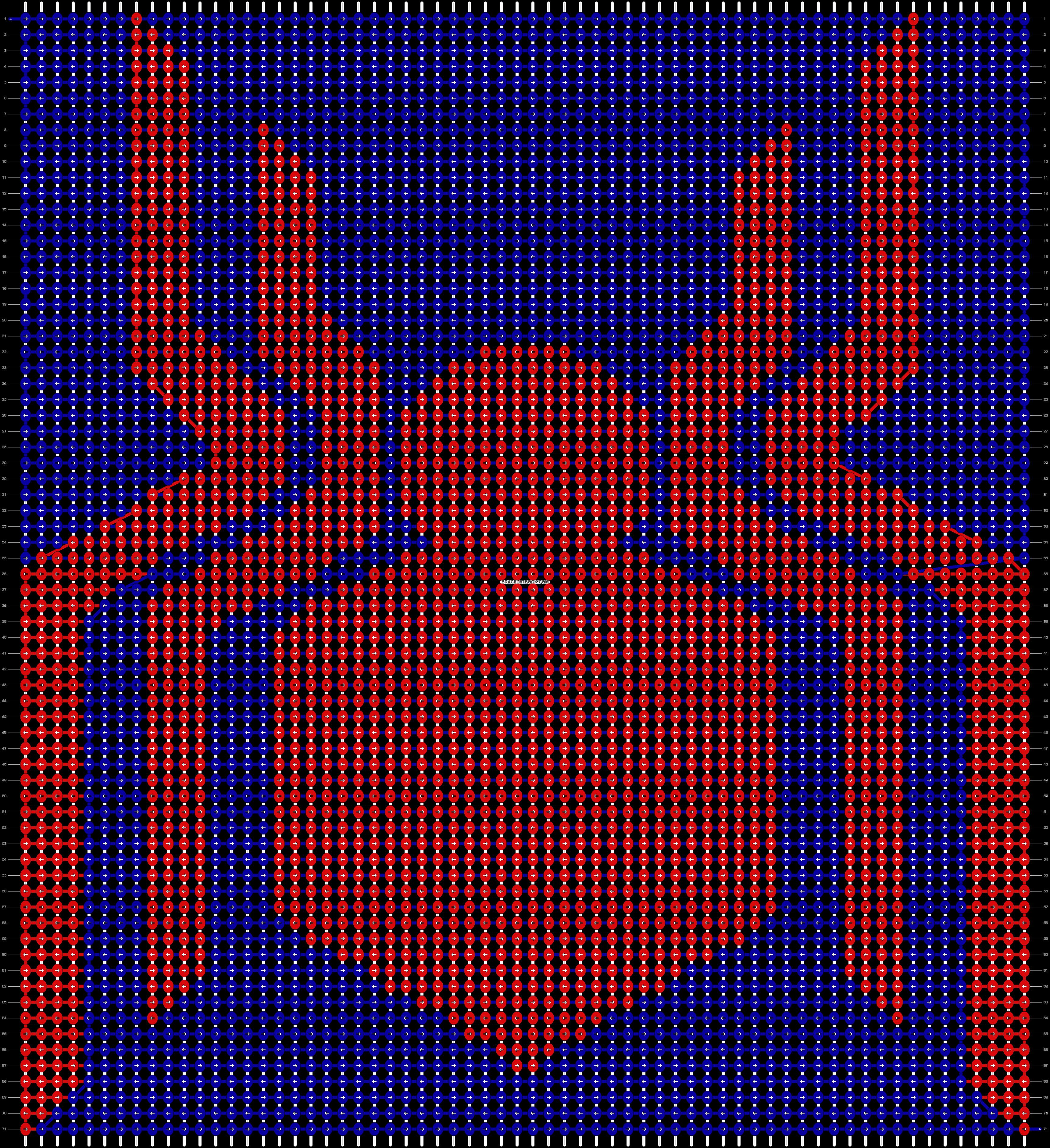 Alpha pattern #58583 pattern