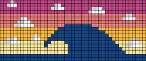 Alpha pattern #58597
