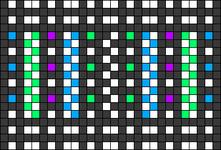 Alpha pattern #58626