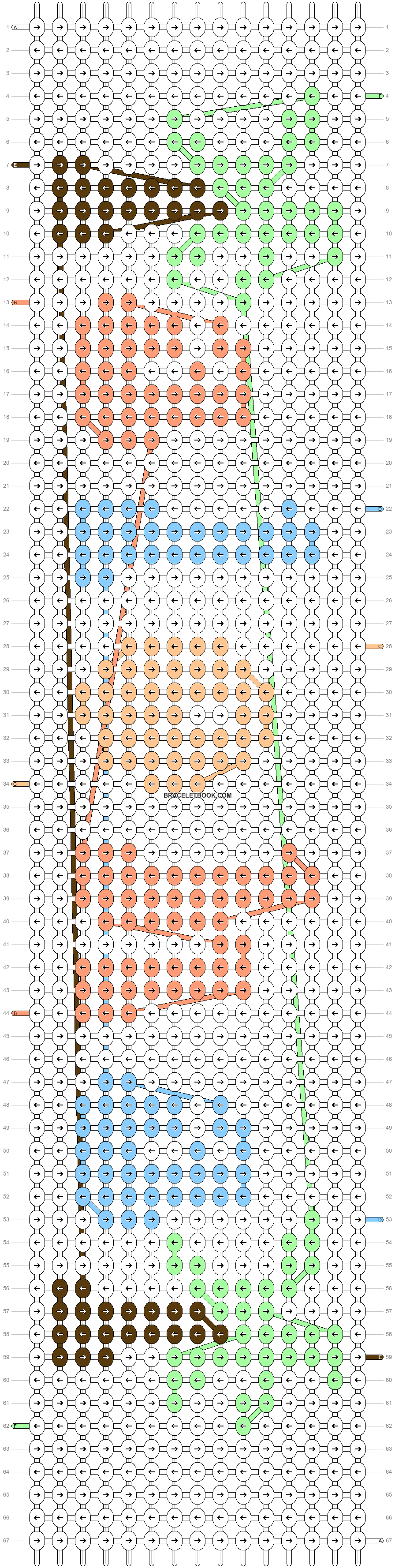Alpha pattern #58640 pattern
