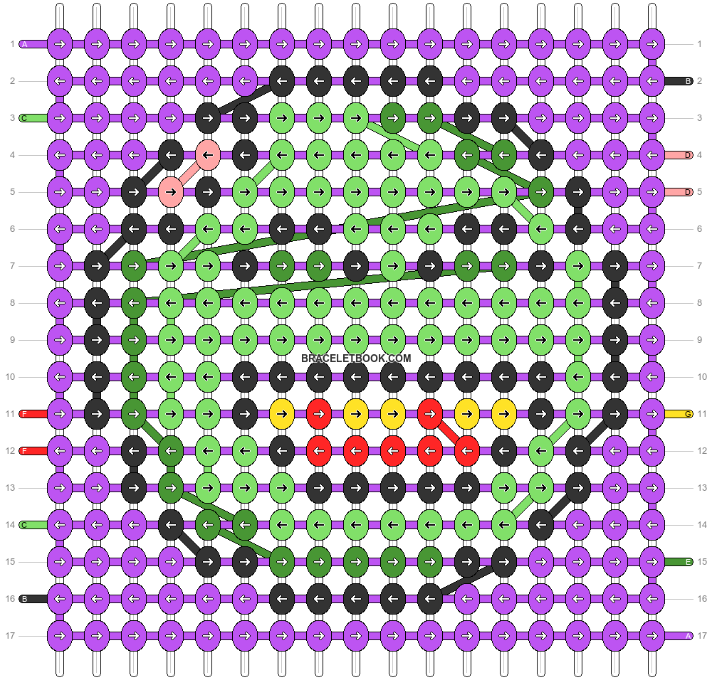 Alpha pattern #58644 pattern