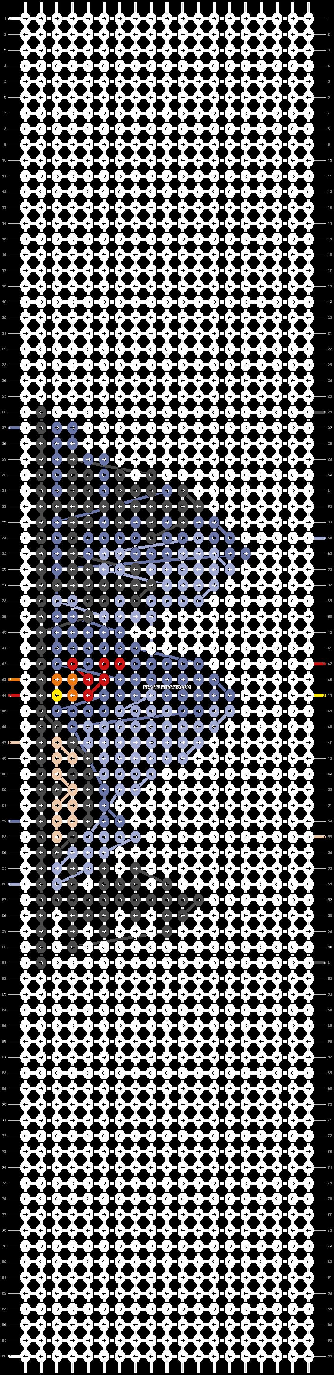 Alpha pattern #58651 pattern