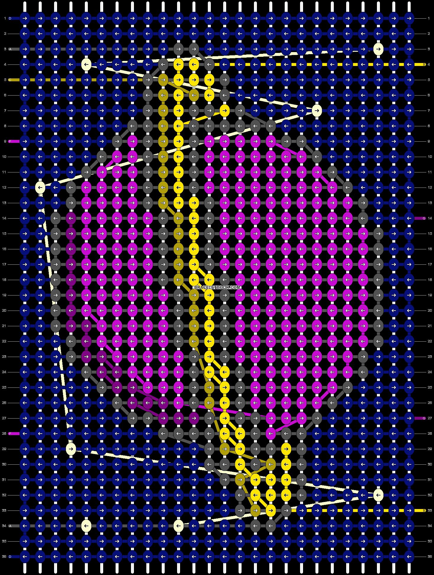 Alpha pattern #58659 pattern