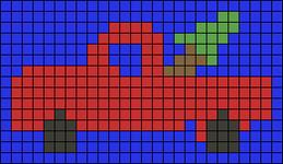 Alpha pattern #58671